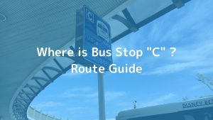 Where is bus stop c? route guide